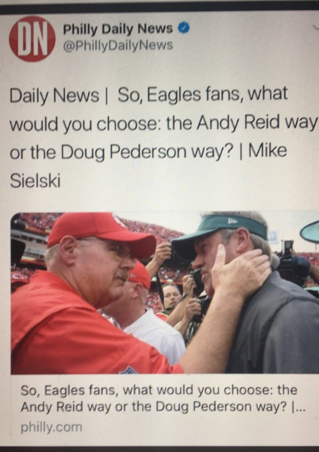 Andy Reid is trash just like this question and his supporters