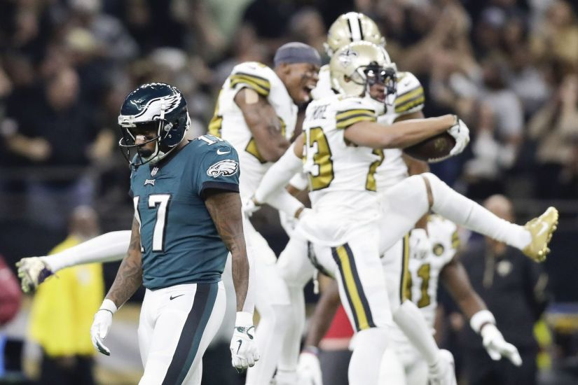Eagles lose to Saints in very Eagle-ish fashion