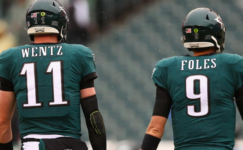 Nick Foles is the Monta Ellis to Carson Wentz's Steph Curry