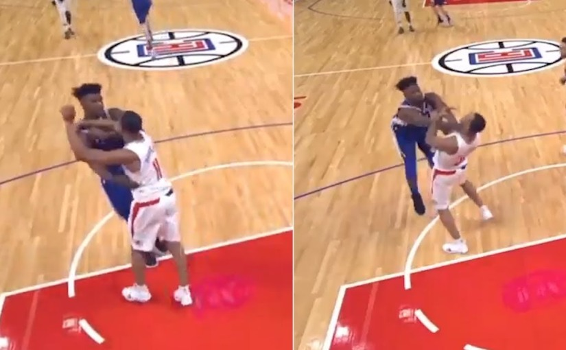Jimmy Butler Ejected in Sixers'Win
